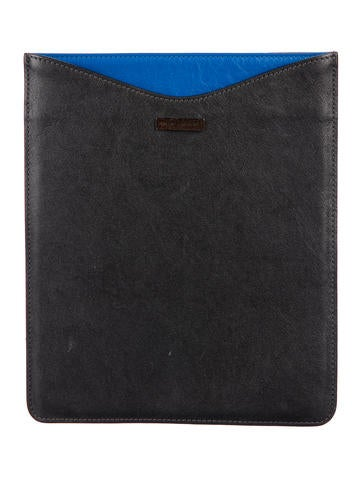 Marc Jacobs Leather iPad Sleeve None