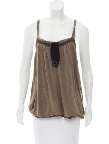 Marc Jacobs Layered Sleeveless Top None