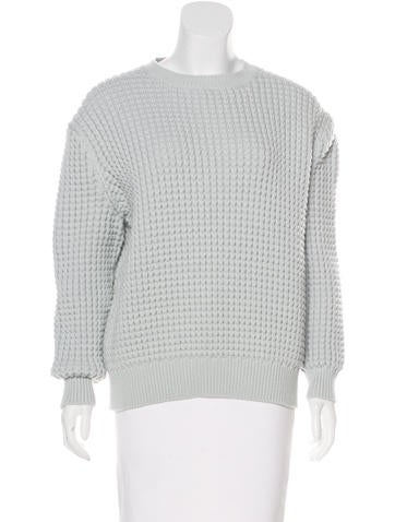 Marc Jacobs Knit Long Sleeve Sweater None