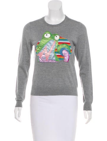 Marc Jacobs Knit Wool Top None