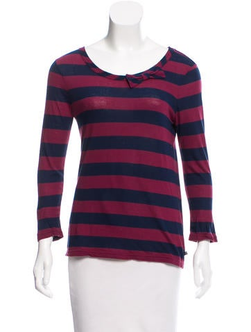Marc Jacobs Long Sleeve Top None