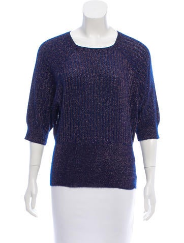 Marc Jacobs Rib Knit Cashmere-Blend Sweater None