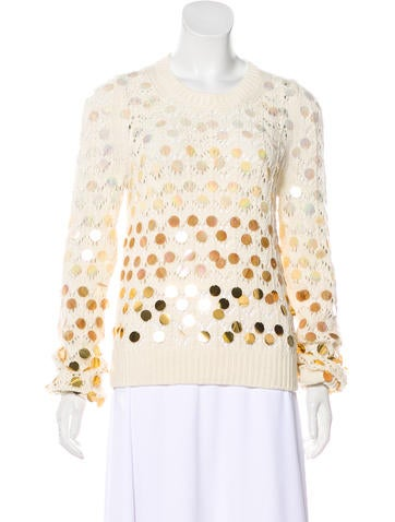 Marc Jacobs Sequined Sweater None