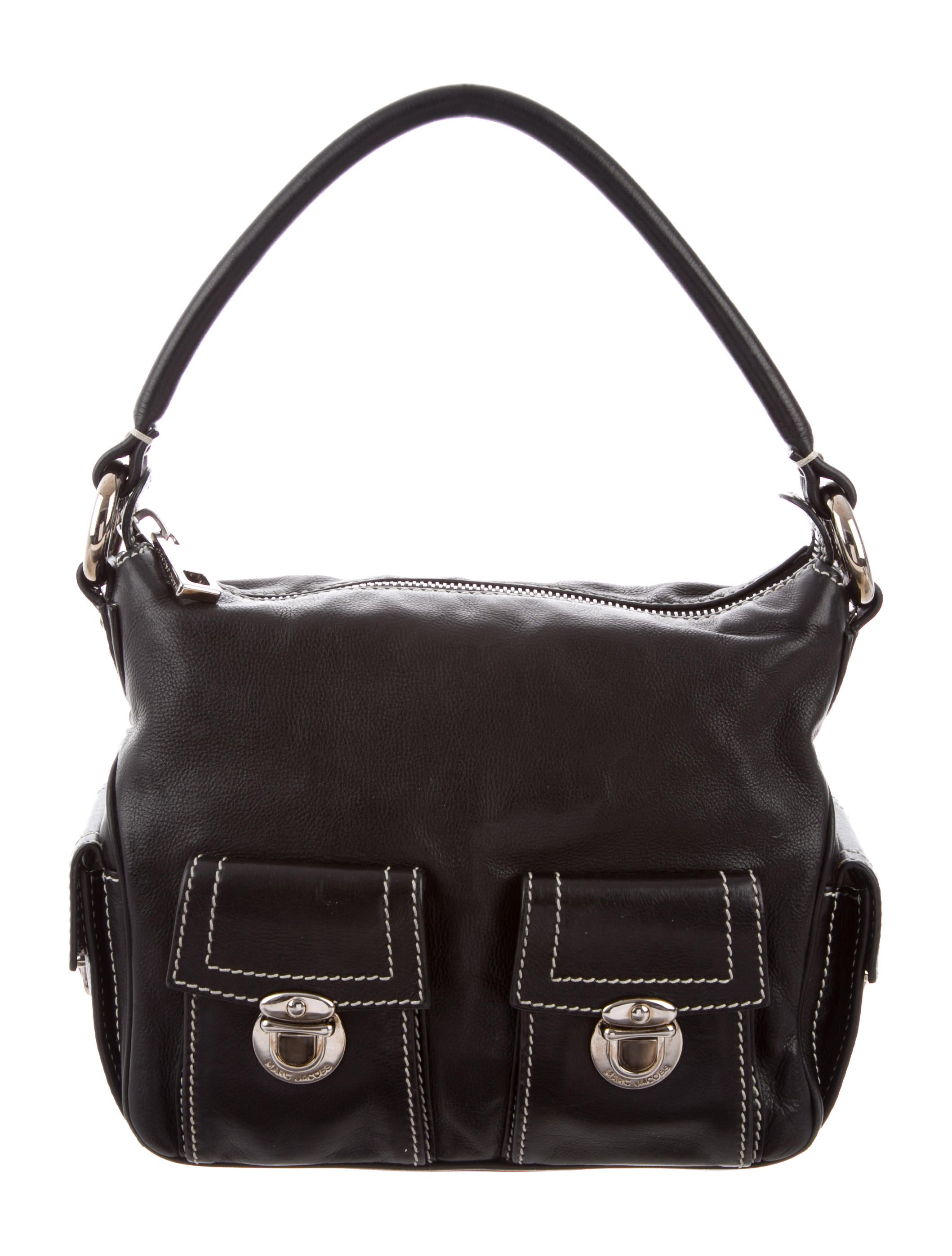2749e30d5a3 Marc Jacobs Pebbled Leather Shoulder Bag - Handbags - MAR54982 | The ...