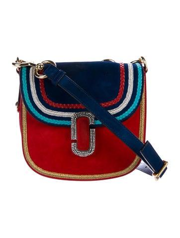 J Marc Suede Saddle Bag