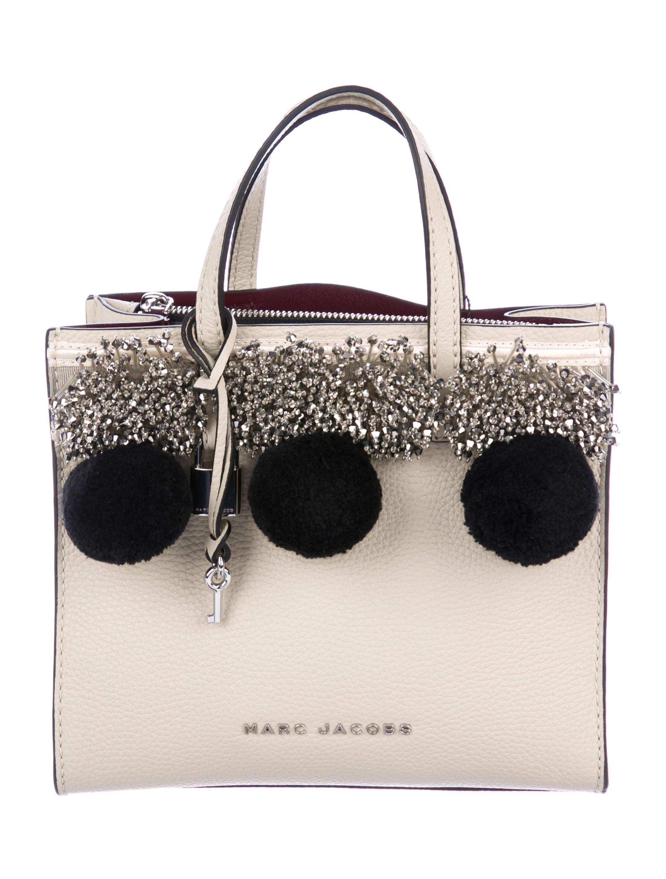 80e36fbd964a Marc Jacobs Mini Grind Pompom Satchel w  Tags - Handbags - MAR57760 ...