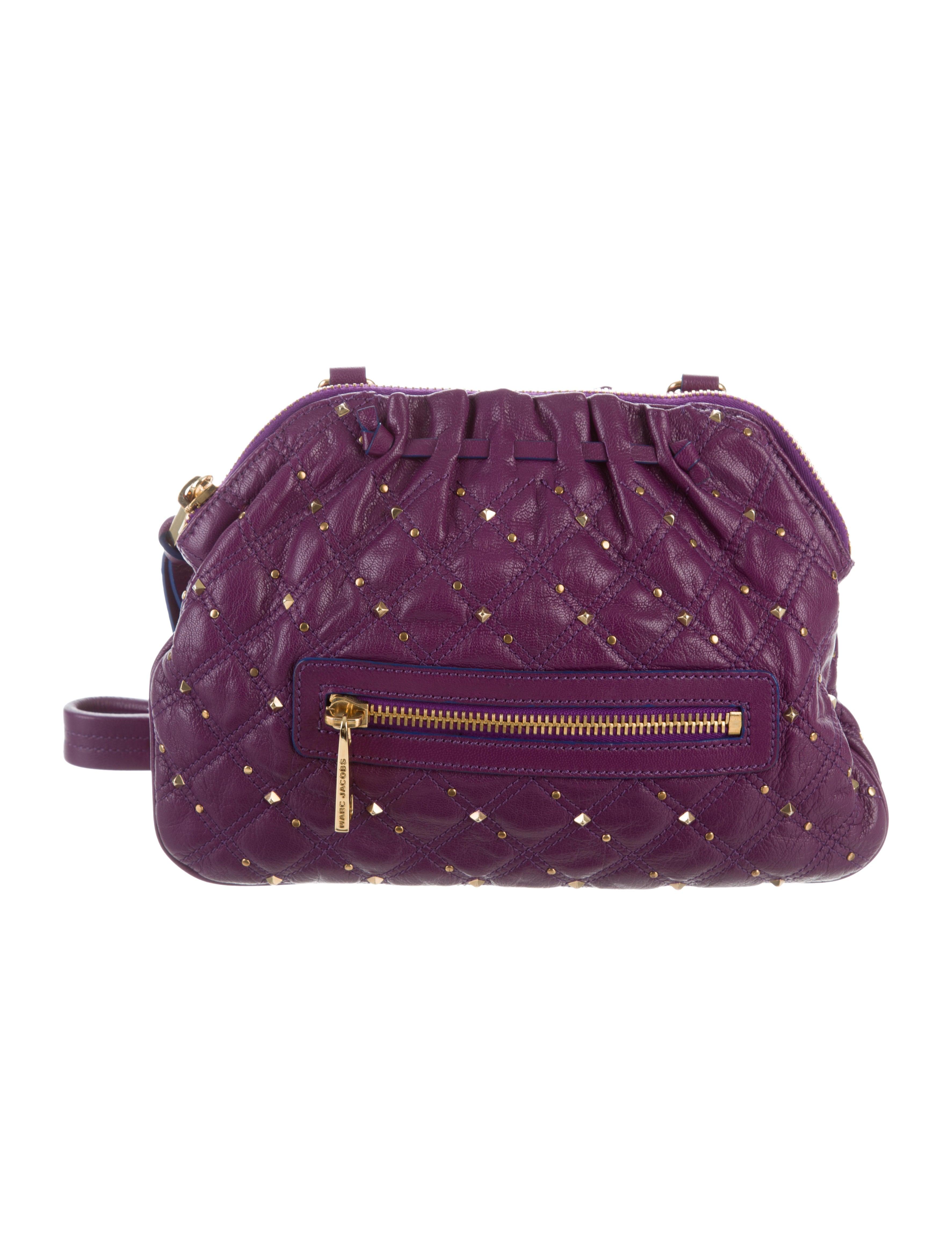 8b70cc427433 Marc Jacobs Quilted Leather Shoulder Bag - Handbags - MAR64634