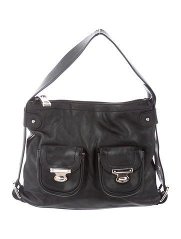 e7229946c5c6 Marc Jacobs. Leather Shoulder Bag