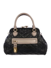 02f7473caebd Marc Jacobs. Quilted Leather Stam Bag