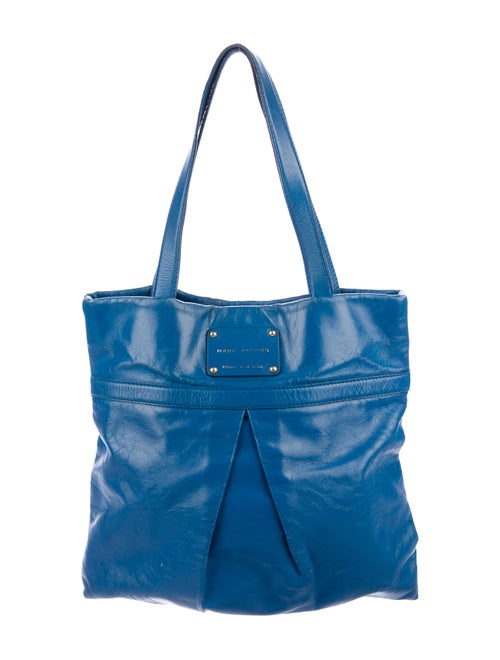 74dc2b4607 Marc Jacobs Large Pleated Leather Tote - Handbags - MAR71054