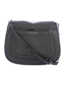 511ce911e897 Marc Jacobs. Grained Leather Saddle Bag
