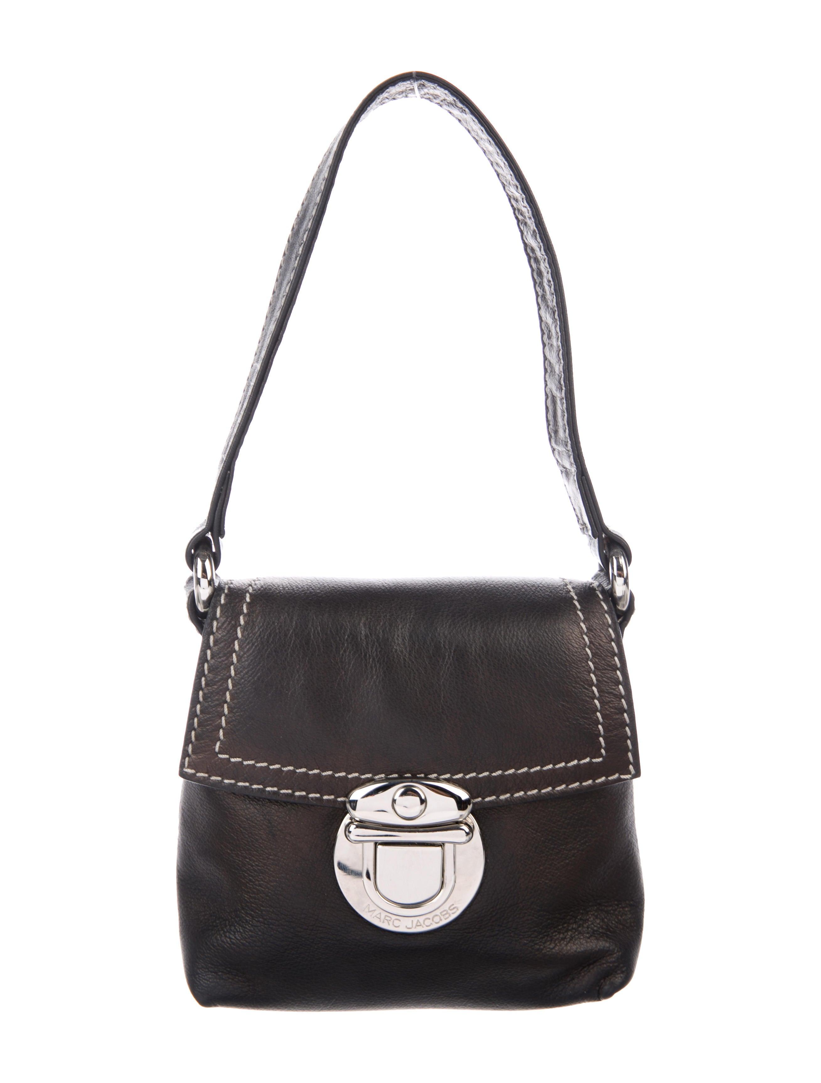 Marc Jacobs Mini Leather Pochette - Handbags - MAR73201 | The RealReal