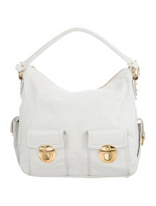 c148cc622c05f Marc Jacobs. Leather Hobo Bag