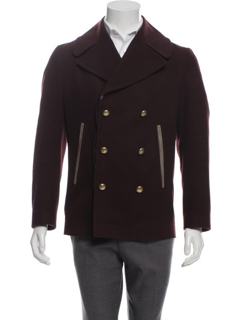 28129f917 Marc Jacobs Virgin Wool Double-Breasted Peacoat - Clothing ...