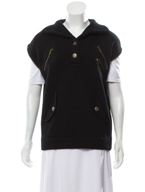 Marc Jacobs Wool Sweater Vest w/ Tags Black