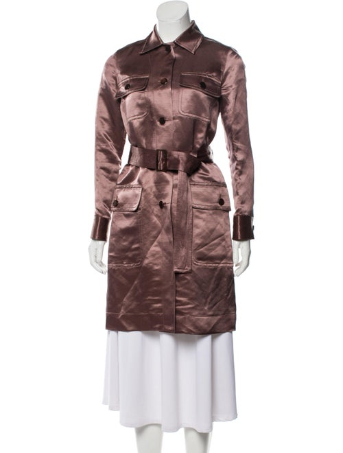 Marc Jacobs Printed Trench Coat Purple