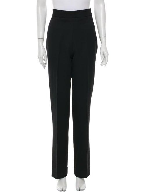 Marc Jacobs Straight Leg Pants Black