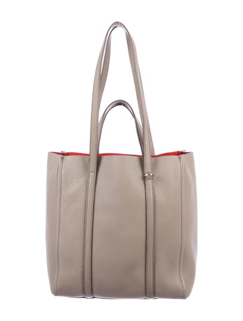 Marc Jacobs Leather Tote Silver
