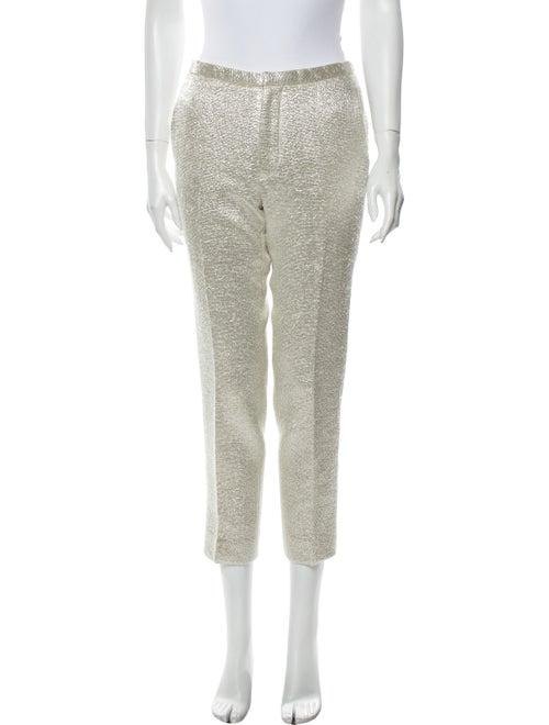 Marc Jacobs Wool Skinny Leg Pants Wool