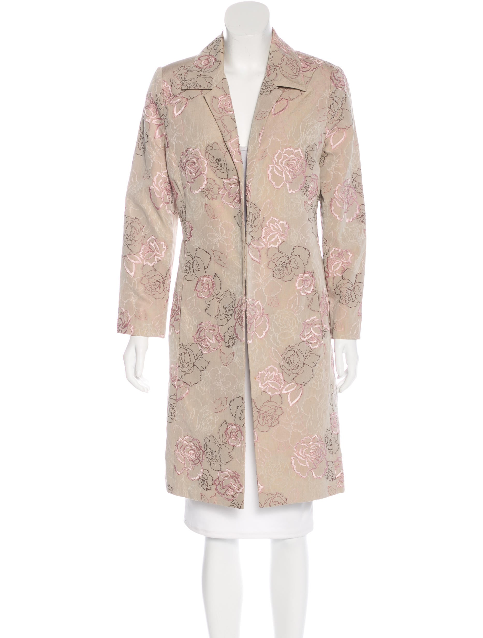 Carmen march embroidered floral coat clothing