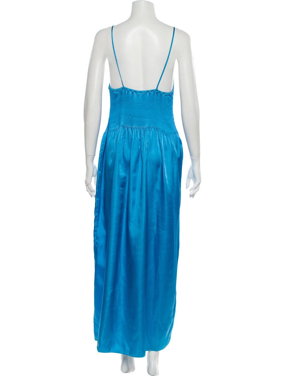 Mary McFadden Nightgown Blue - image 3