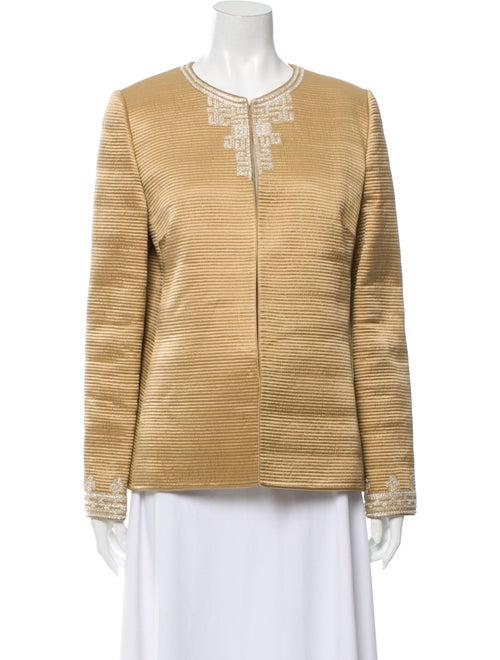 Mary McFadden Evening Jacket Gold