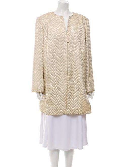 Mary McFadden Coat Gold