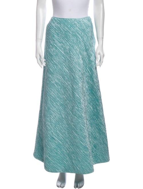 Mary McFadden Long Skirt Green