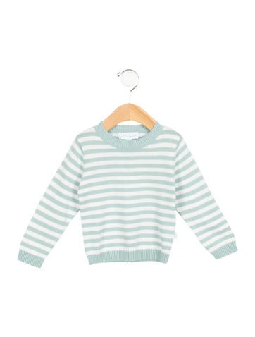 Marie Chantal Girls' Striped Crew Neck Sweater w/ Tags None