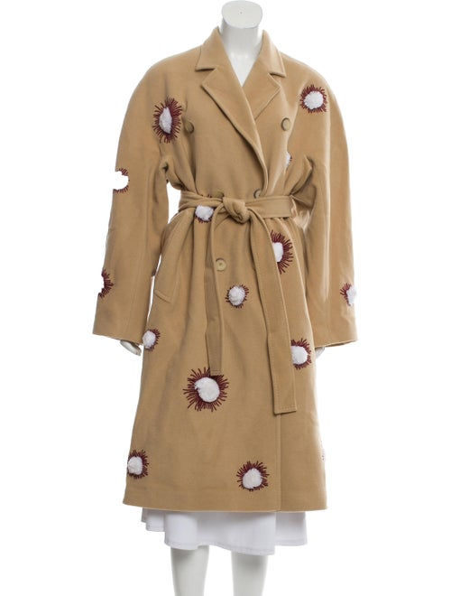 March 11 Embroidered Long Coat