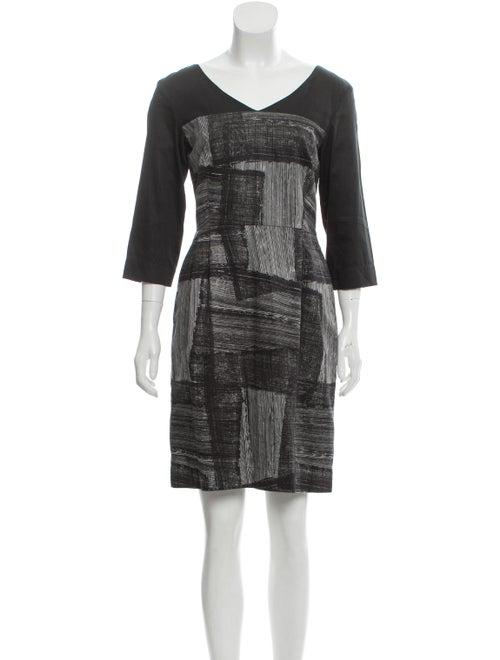 Marimekko Noki Mini Dress Black