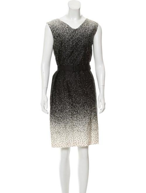 Marimekko Sleeveless Printed Dress w/ Tags Black