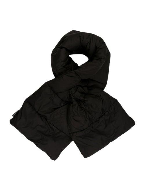 Marimekko Nylon Puffer Scarf Black