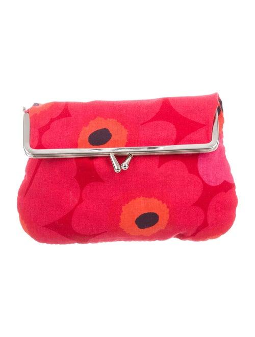 Marimekko Mini Printed Pouch Red