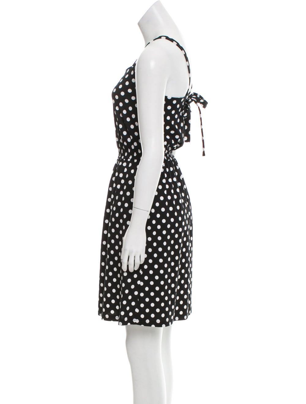 Marimekko Sleeveless Polka Dot Dress Black - image 2
