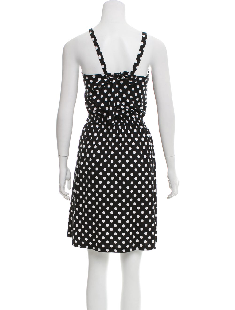 Marimekko Sleeveless Polka Dot Dress Black - image 3