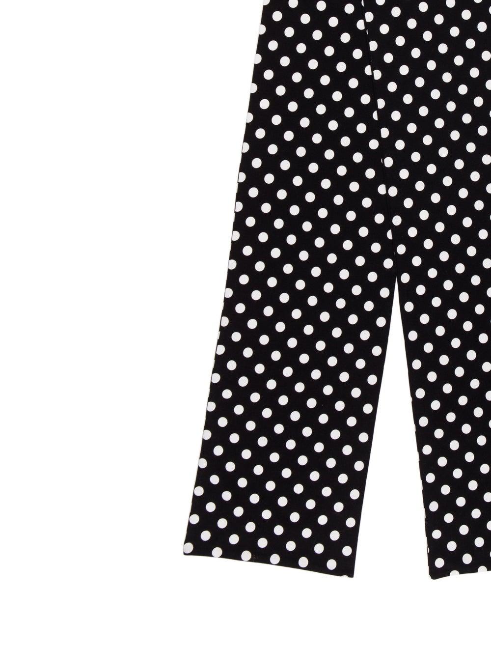 Marimekko Polka Dot Woven Scarf Black - image 2