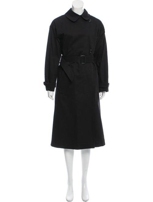Marimekko Long Button-Up Coat Black - image 1