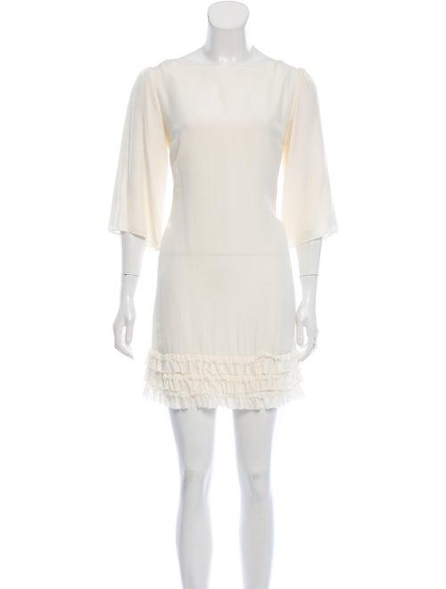 Marimekko Bateau Neckline Mini Dress - image 1