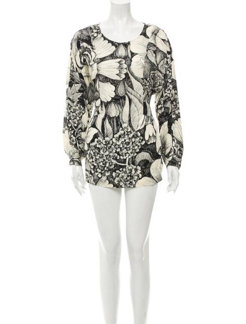Marimekko Floral Print Mini Dress