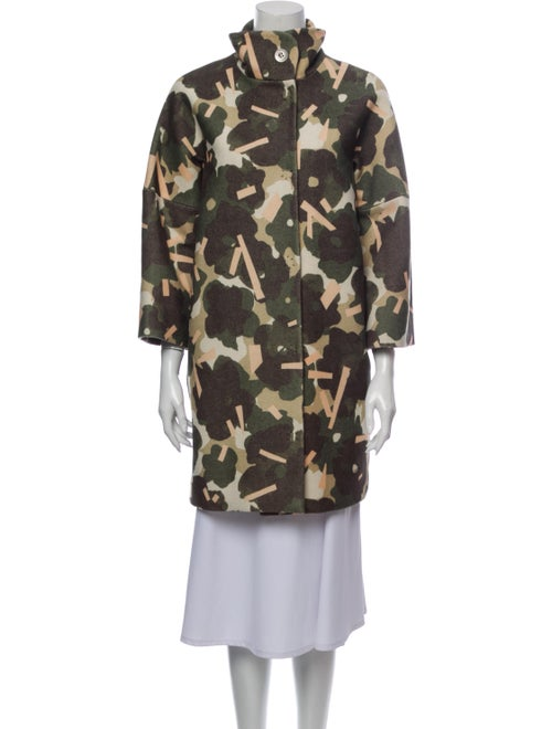 Marimekko Printed Coat Green