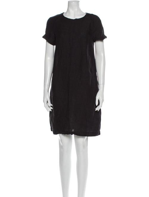 Marimekko Linen Mini Dress Black