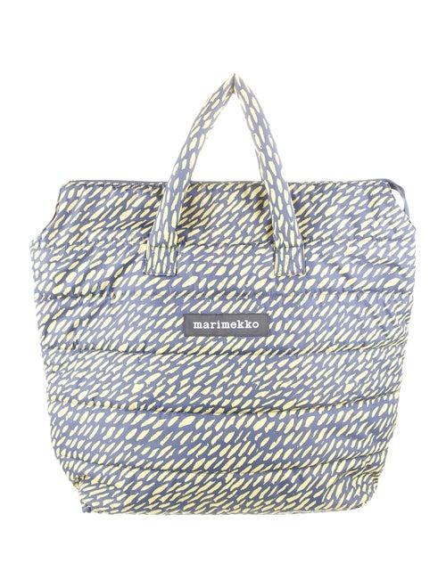Marimekko Printed Nylon Tote Bag Blue