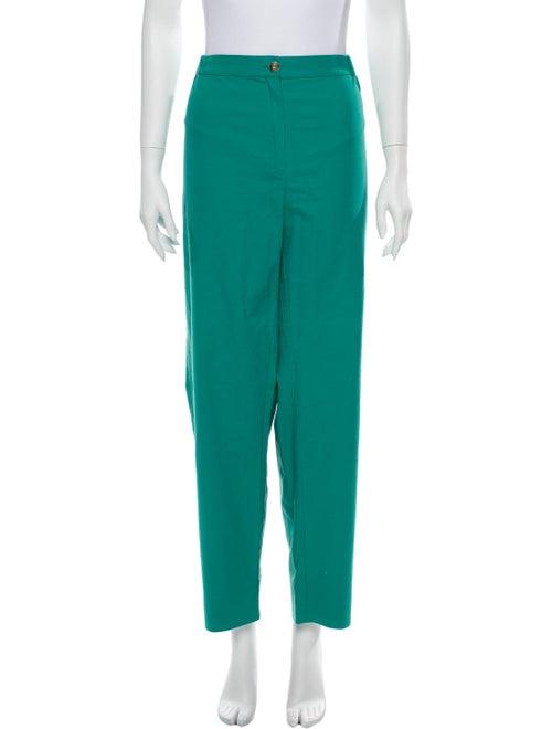 Marina Rinaldi Straight Leg Pants Green