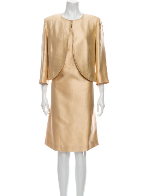Marina Rinaldi Studded Accents Dress Set