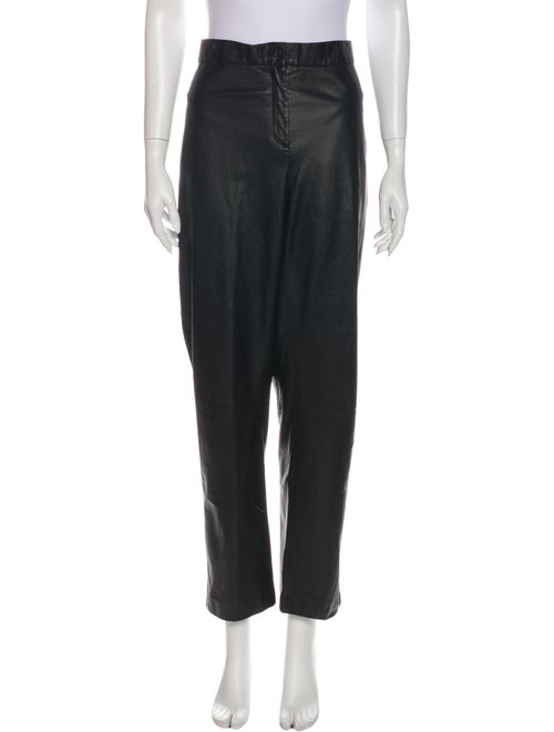Marina Rinaldi Straight Leg Pants Black
