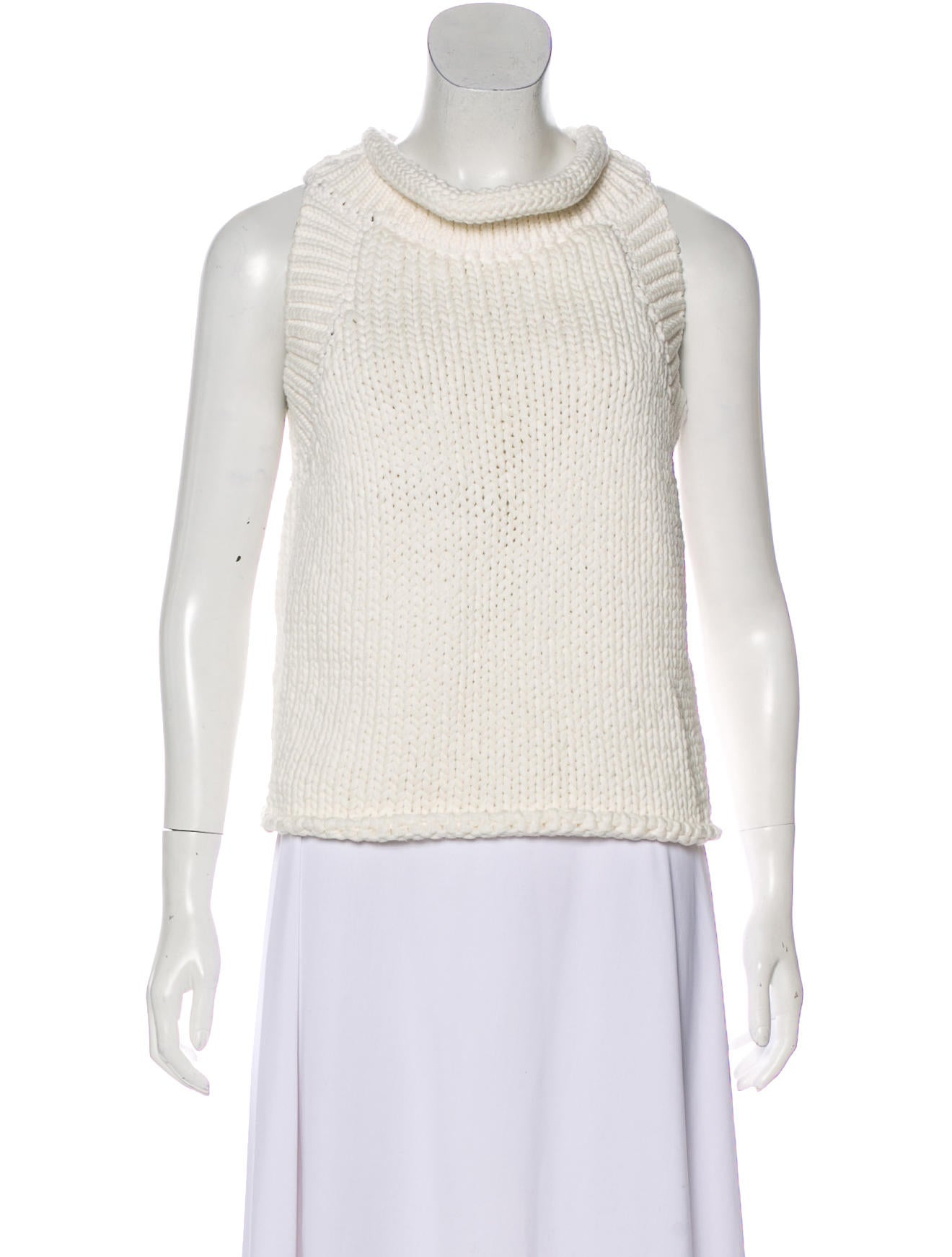 Matthew Williamson Cable Knit Sleeveless Sweater W Tags Clothing