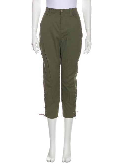 Marissa Webb Straight Leg Pants Green