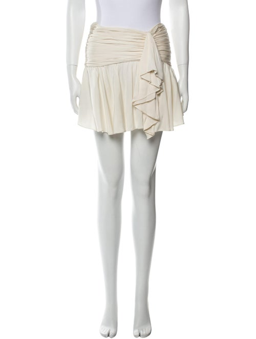 Marissa Webb Silk Mini Skirt - image 1