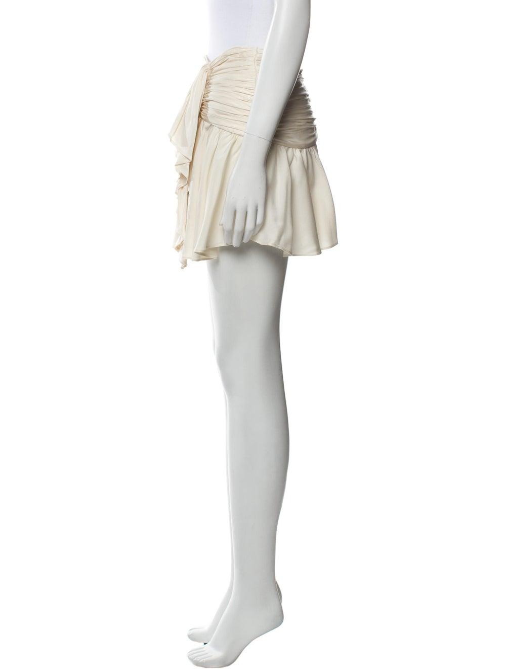 Marissa Webb Silk Mini Skirt - image 2